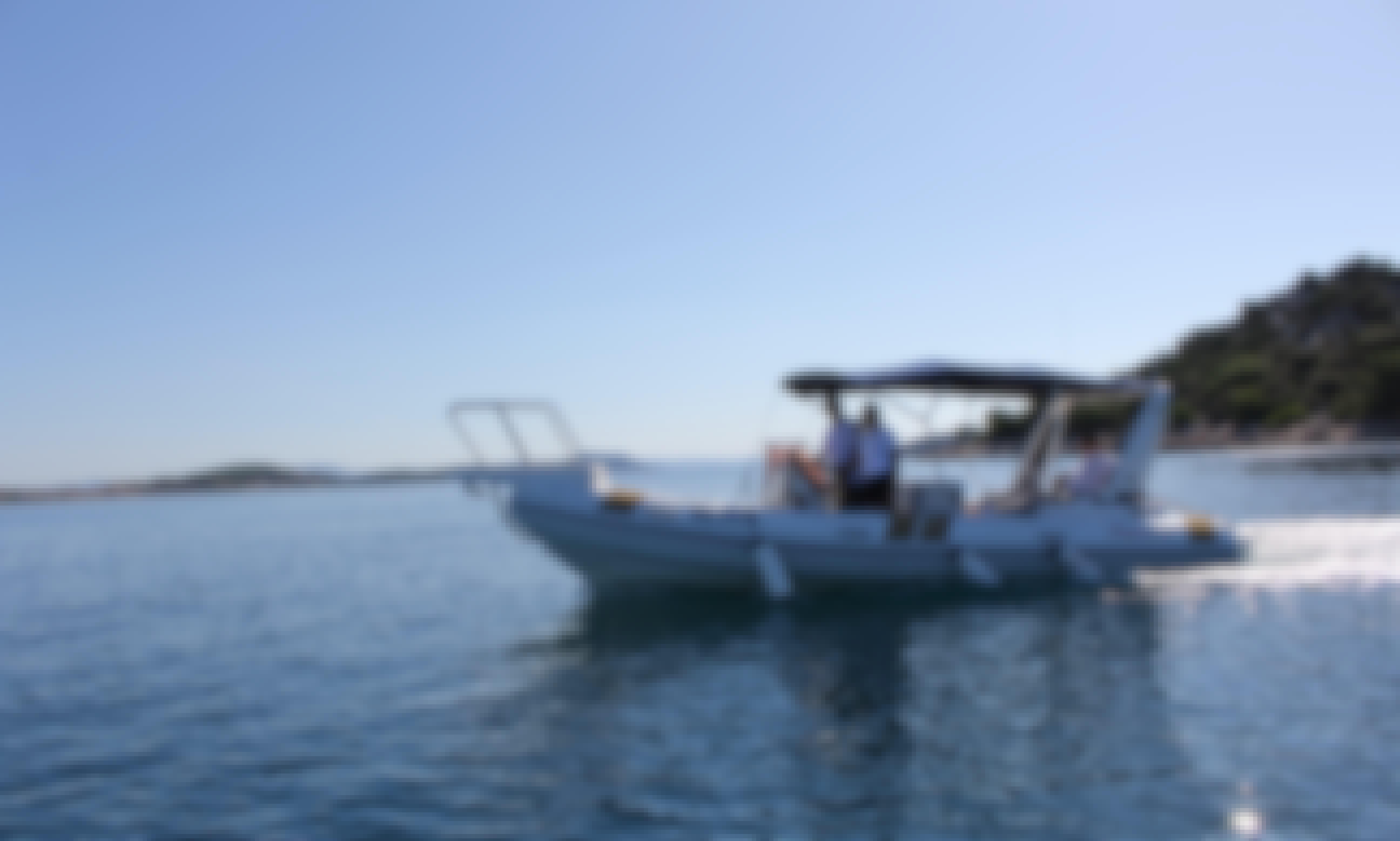 Enjoy your vacation with Ragusa 750 RIB in Tribunj, Croatia!