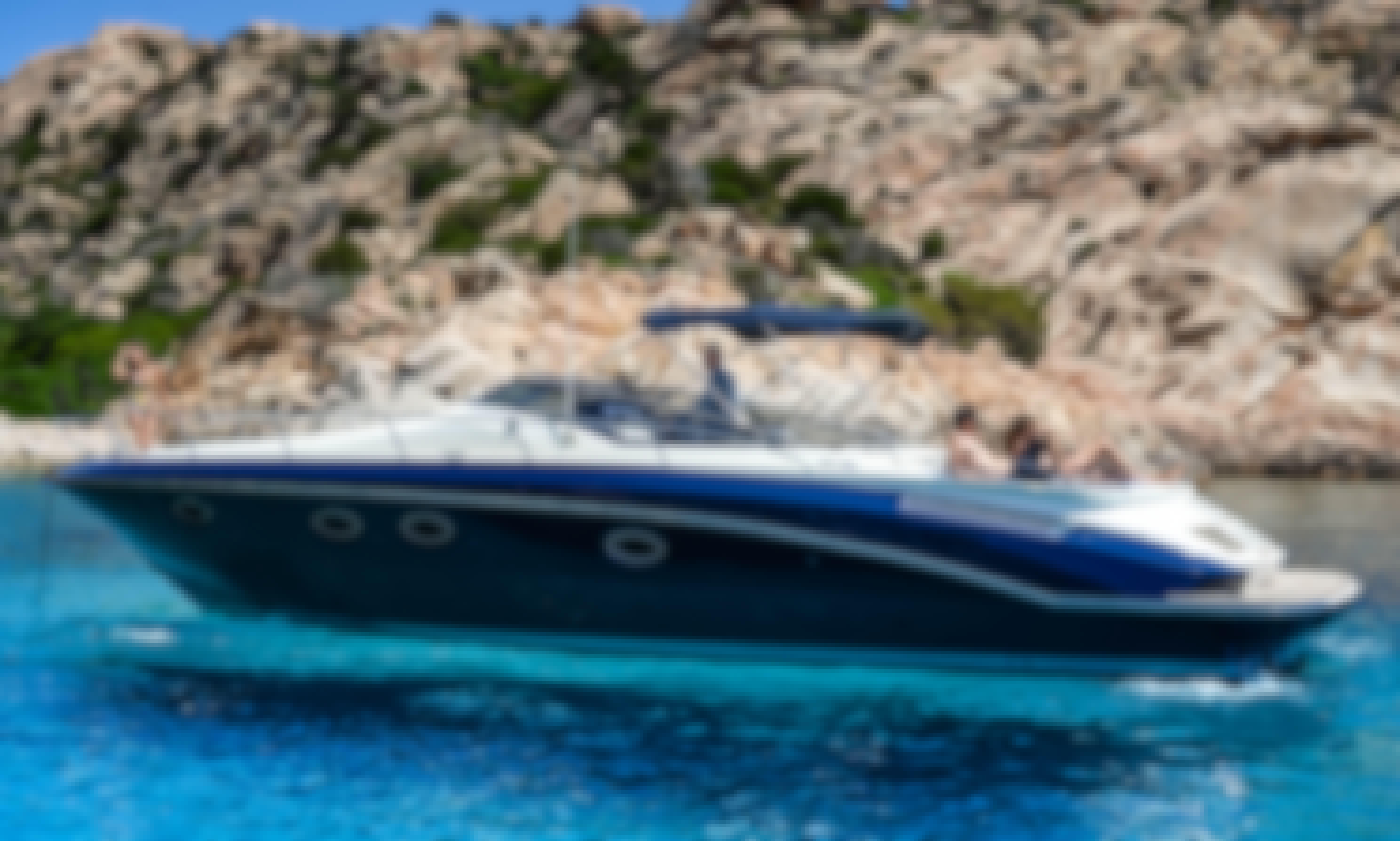 Cantieri Sarnico Spider 43 Motor Yacht from Costa Smeralda in Sirdinia, Italy!