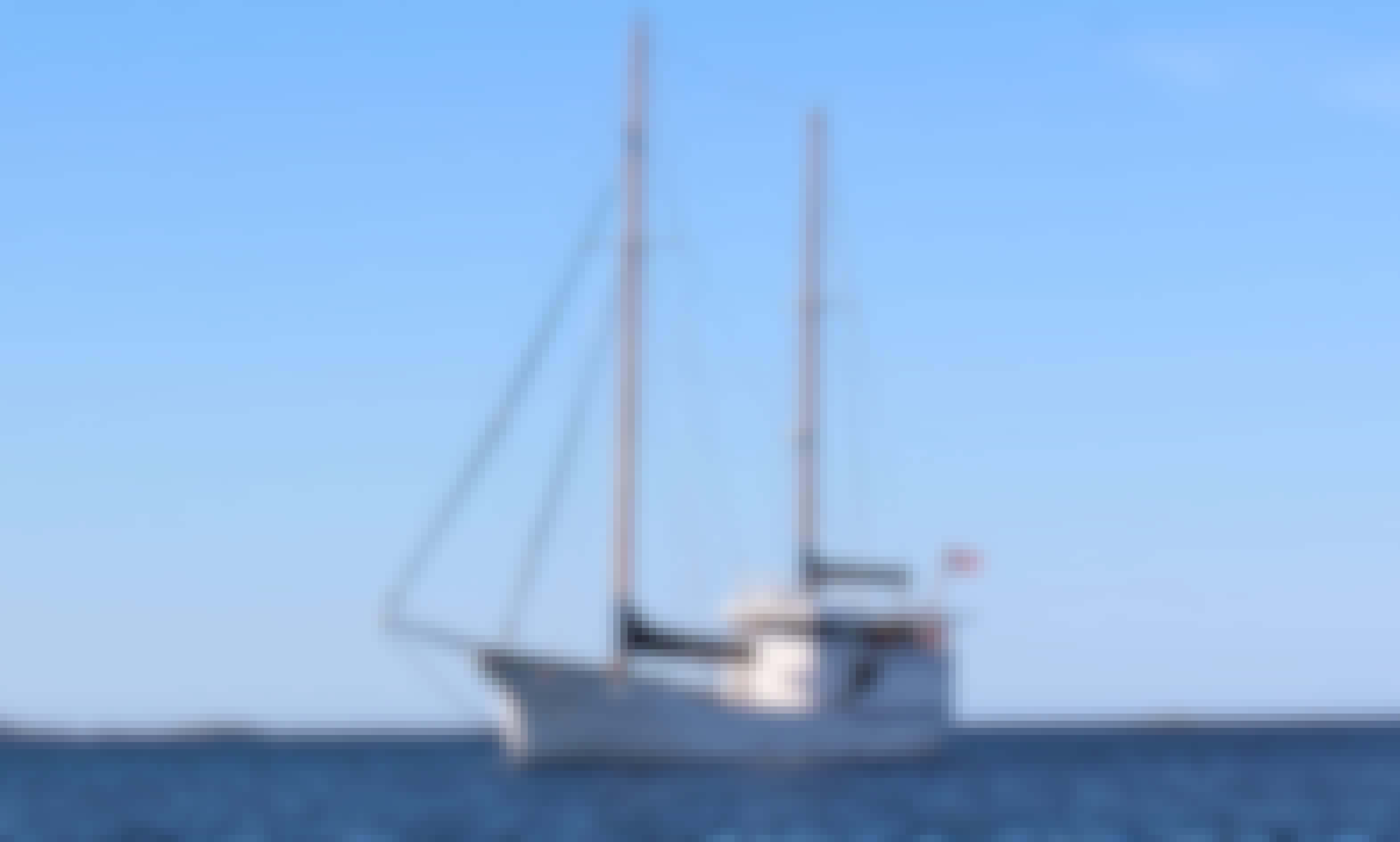 78' Classic Scandinavian Sailing Yacht Charter in Tromso & Lofoten, Norway!
