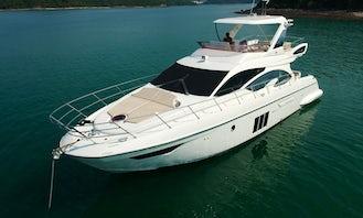 Azimut 54 Luxury Motor Boat in Hong Kong Island