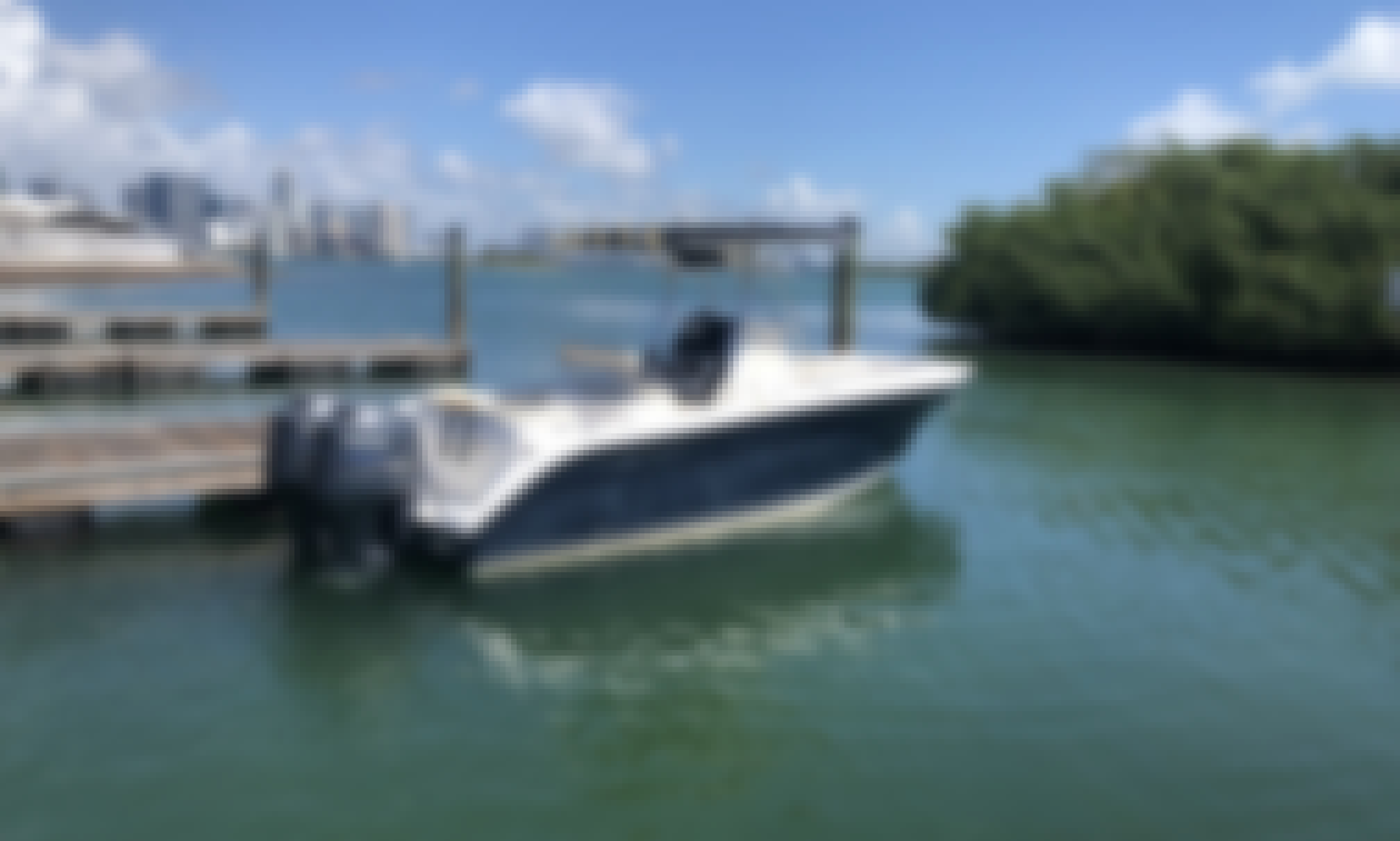 Power center console 24ft- 2-150hp  in Key Biscayne