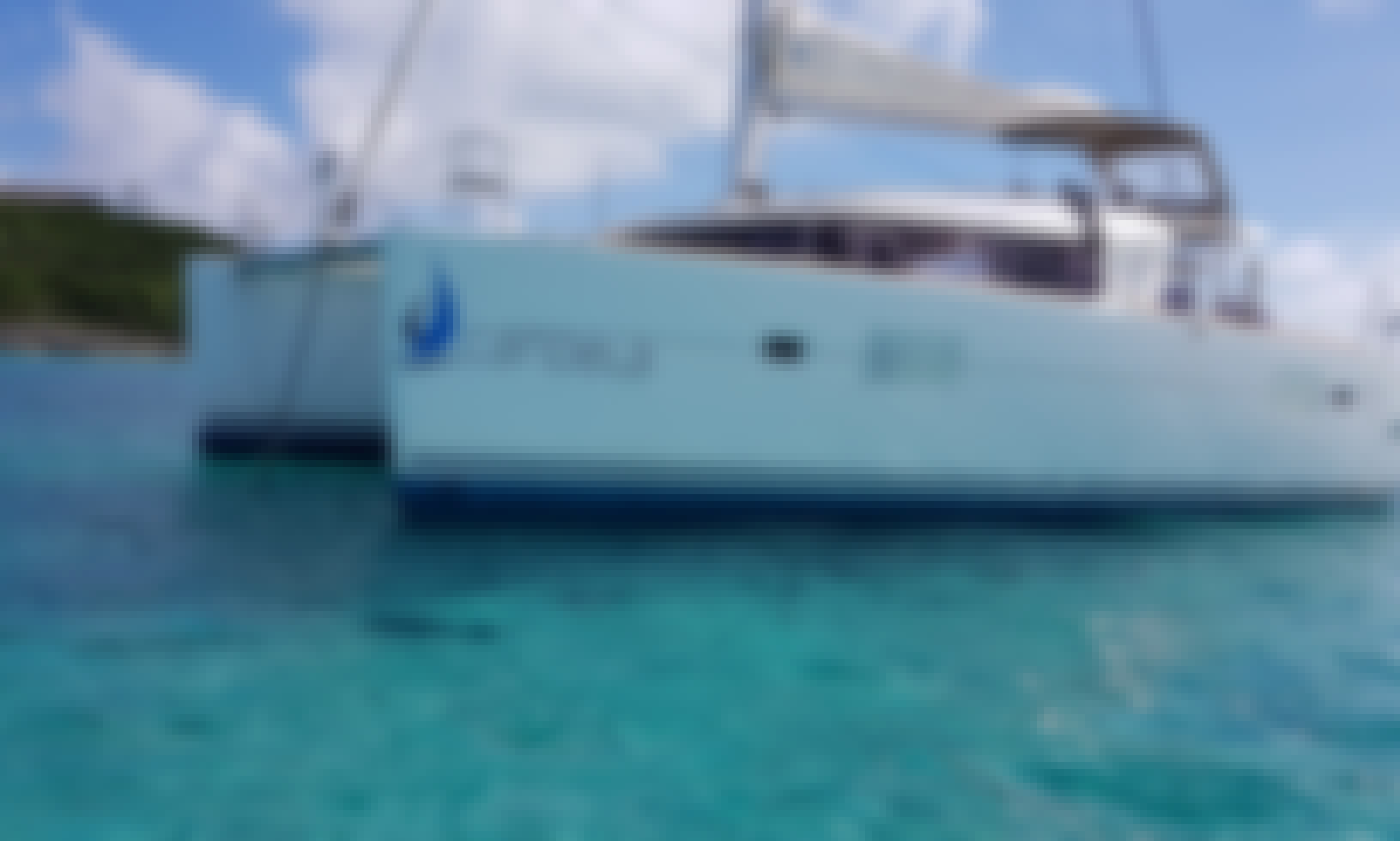 Enjoy PRIVACY AND LUXURY in nature on our BEAUTIFUL SAILING CATAMARAN