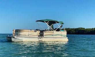 Miami Pontoon Rental - 25' Premier Pontoon