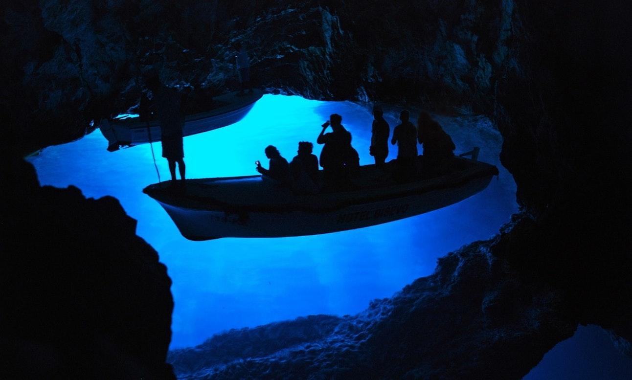 Blue Caves in Croatia boat tour