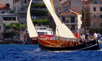 Experience Maritime Tradition Excursion in Split, Croatia! Lateen Sail - Gajeta Falkusa!