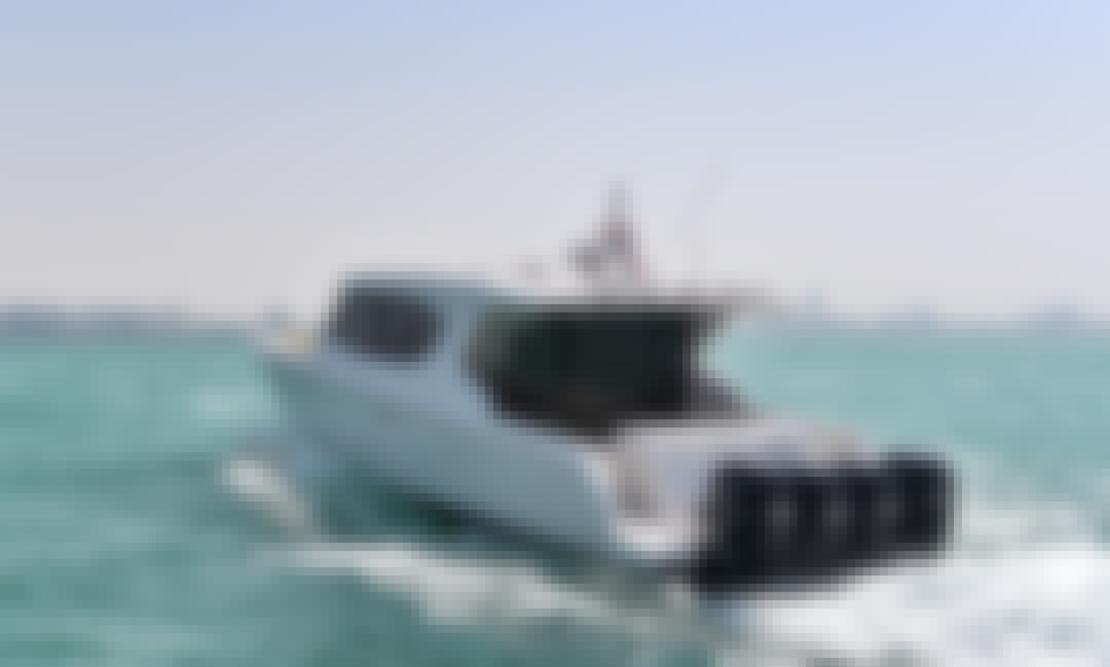 Captained Charter 47' Silver Craft Motorboat in Fujairah - Boat Tours, Fishing Trip and Party Boat for up to 12 Person!
