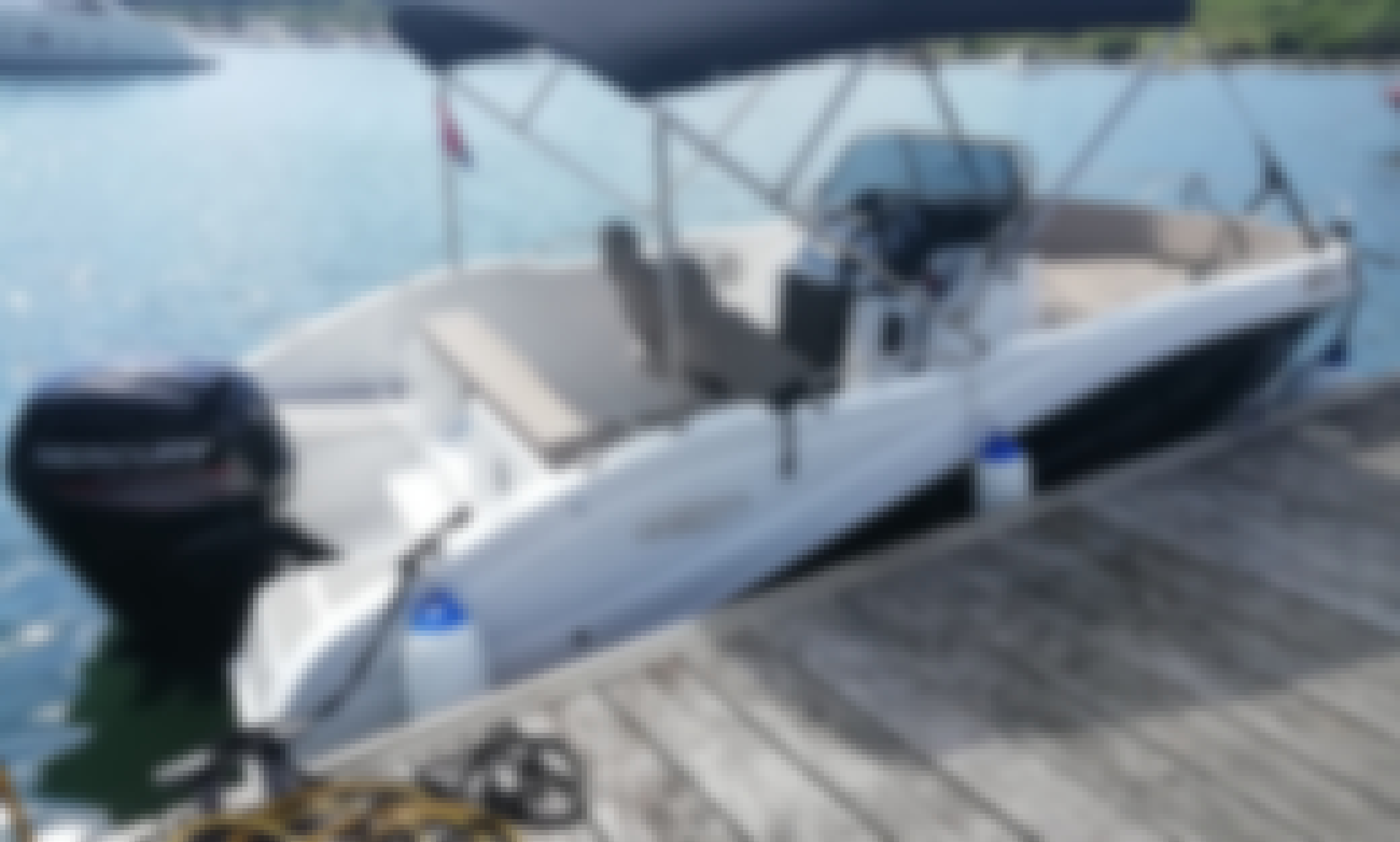 Barracuda 545 with Mercury 100 for rent in PULA