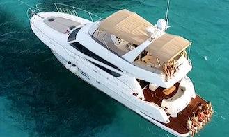 Princess 50ft Yacht Rental in Cancún, Quintana Roo
