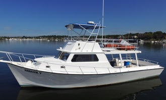 Enjoy Fishing On our 45ft Commercial fishing boat