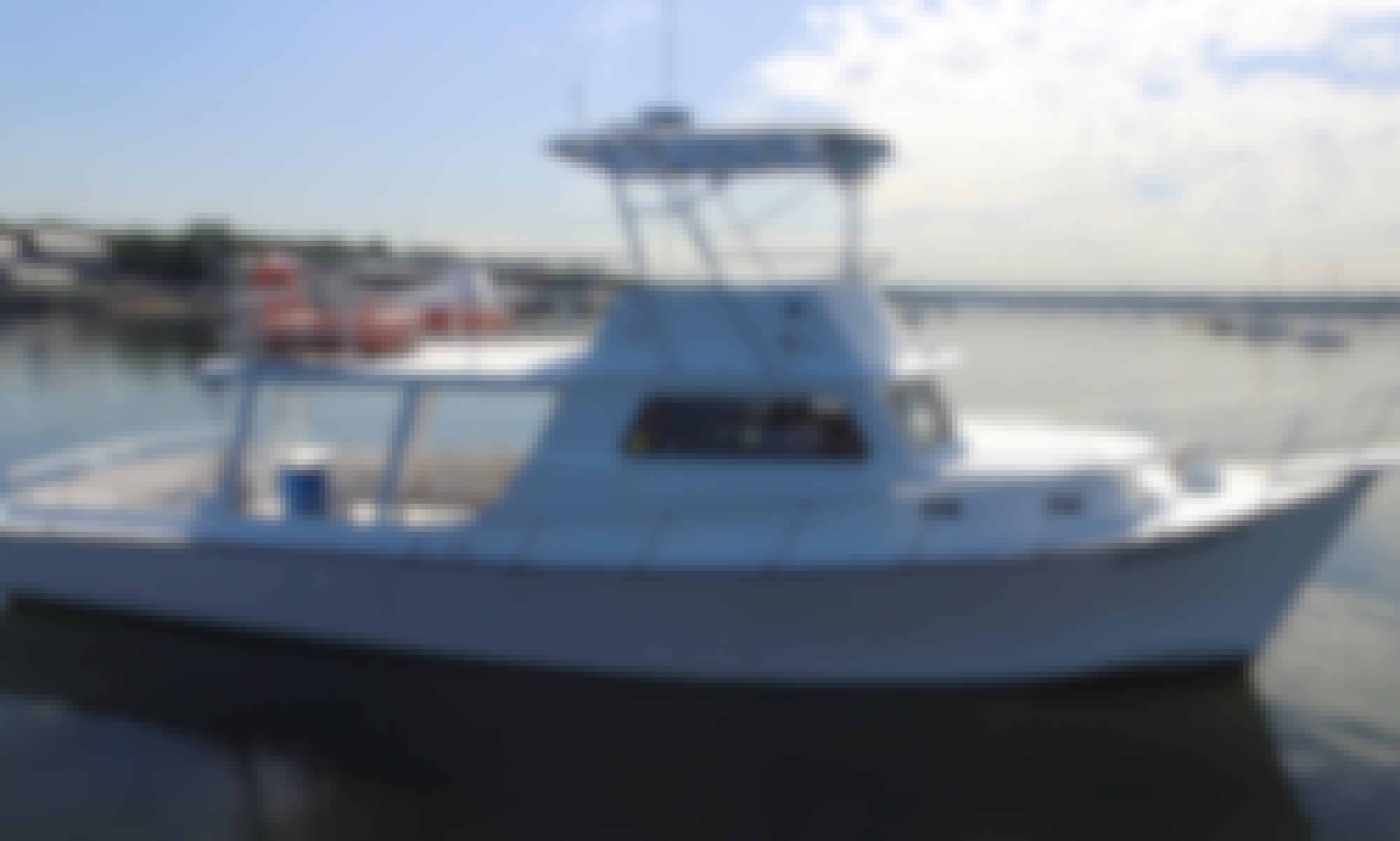"Enjoy Fishing On 45fy ""ANGLER 5"" Boat In Port Washington, New York"