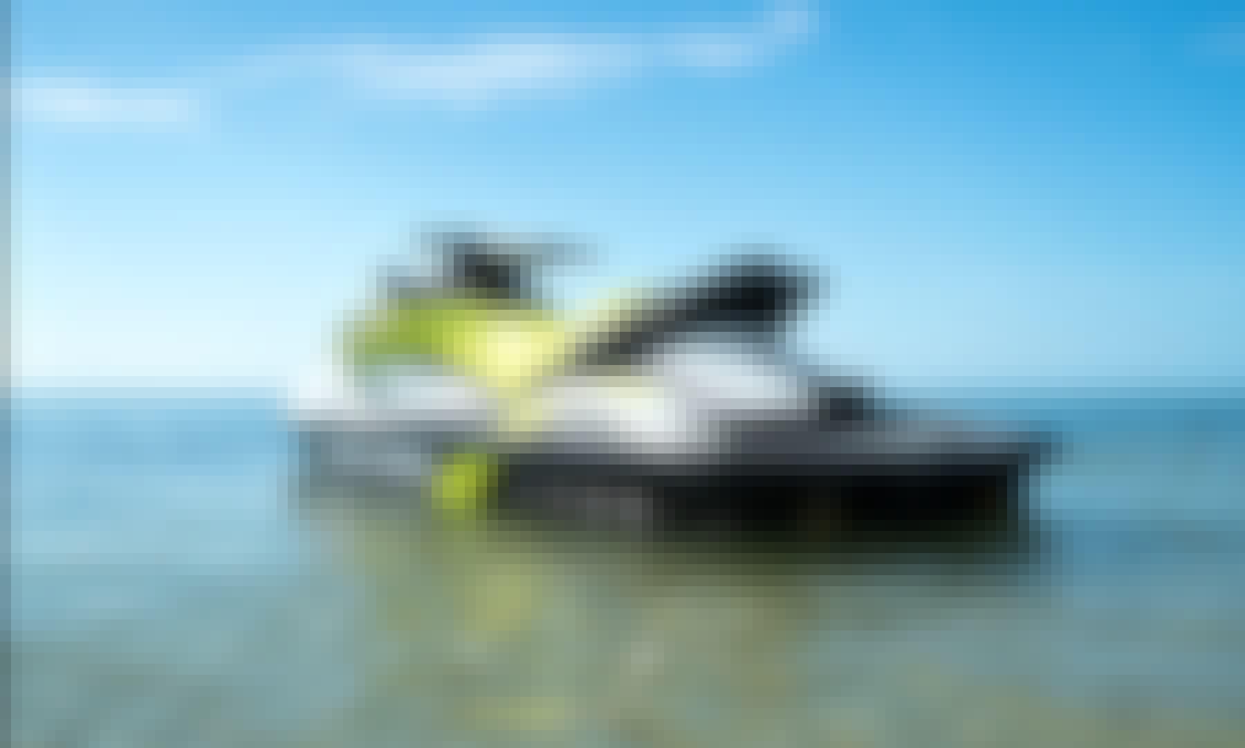 SeaDoo GTI Jetski Rental - Cruise the Bay of St. Petersburg, Florida