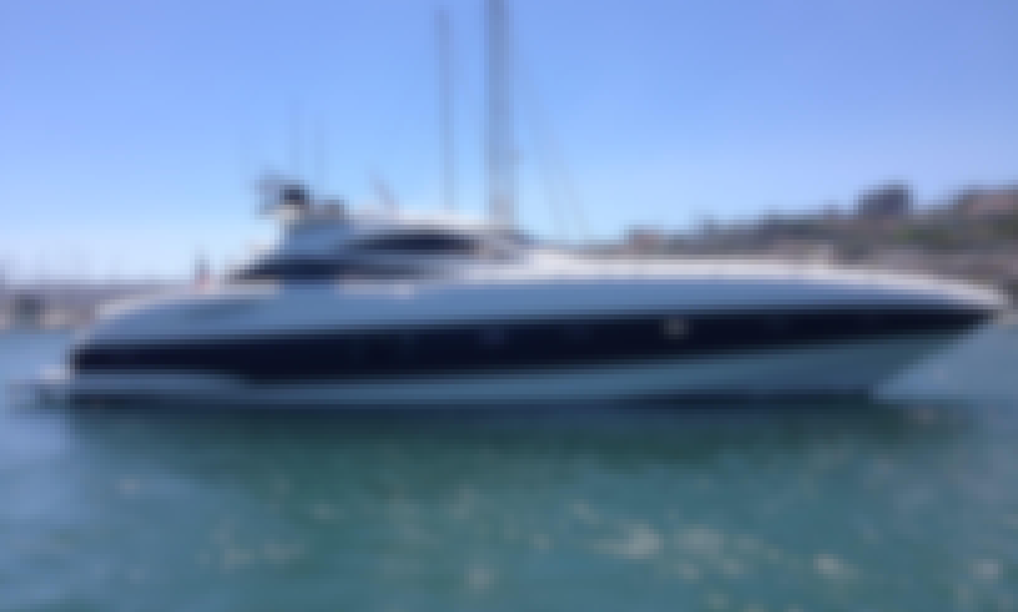 68' Sunseeker Predator Luxury Yacht charter in San Diego