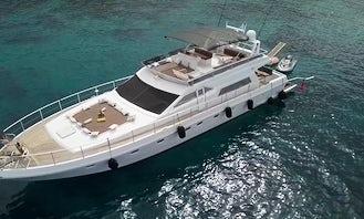 Power and Luxury Charter! Ferretti 64 Motor Yacht