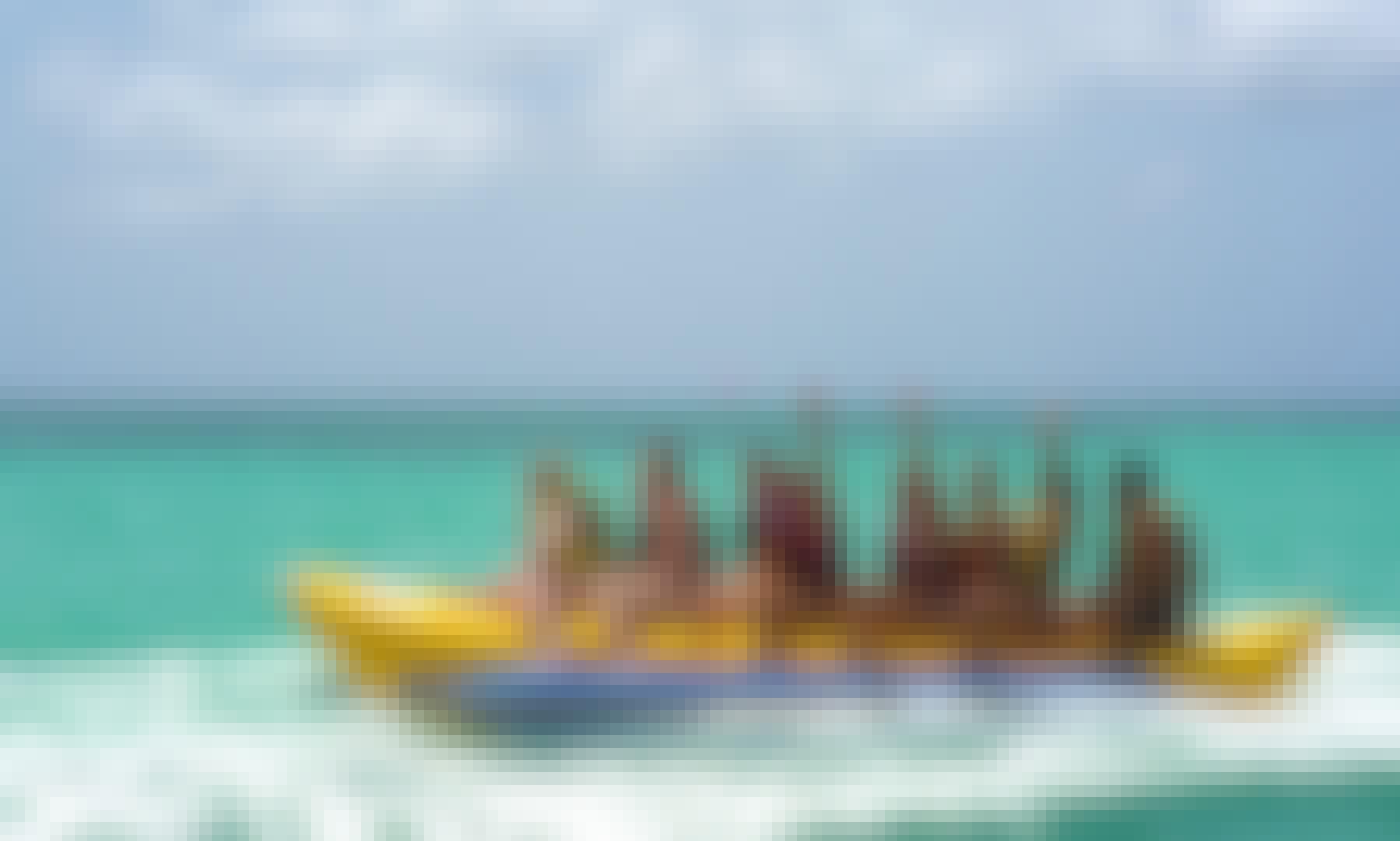 Amazing Banana Boat Ready for Rent in Noord, Aruba