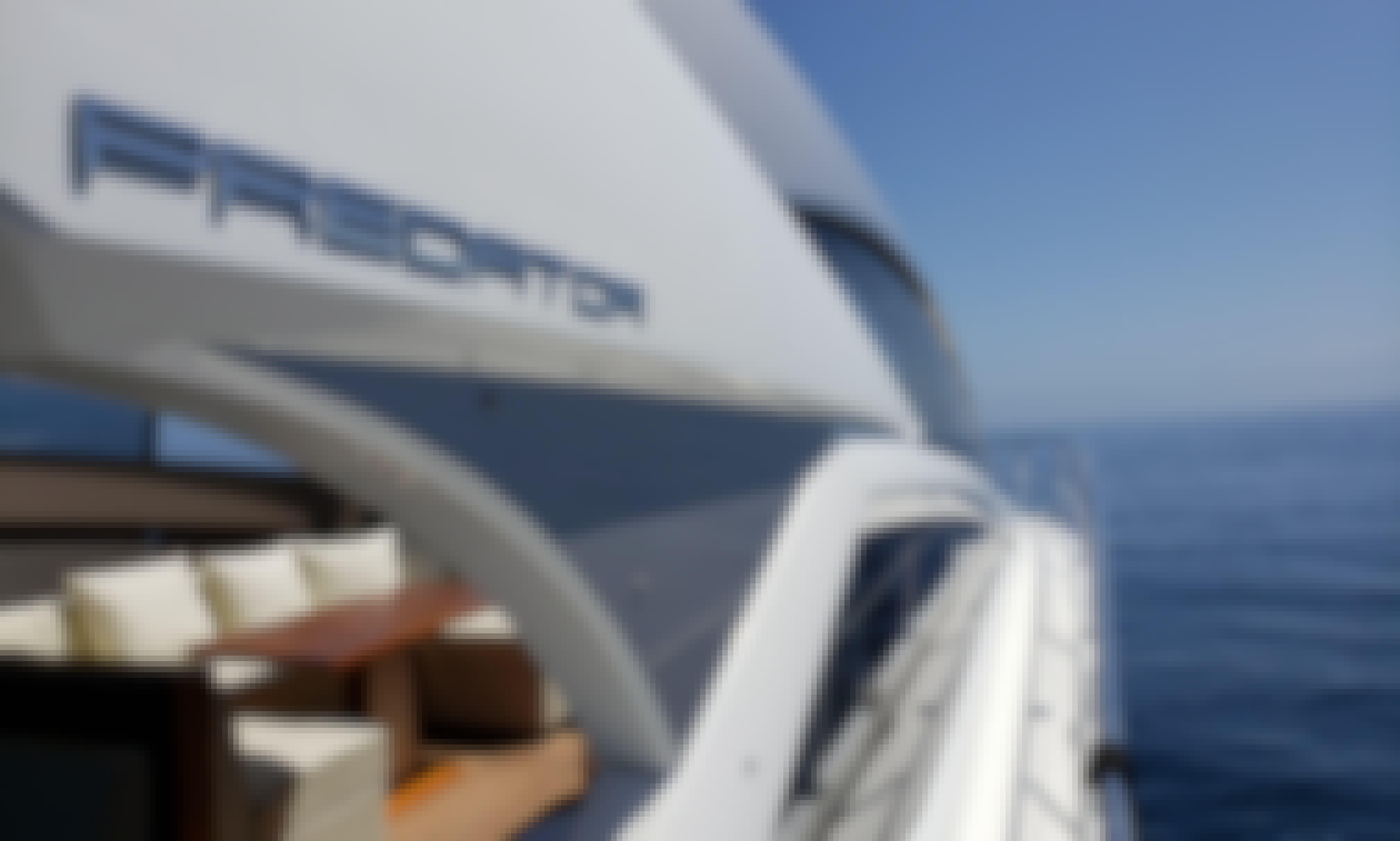 Charter this 60ft Sunseeker Predator Yacht to Catalina Island!