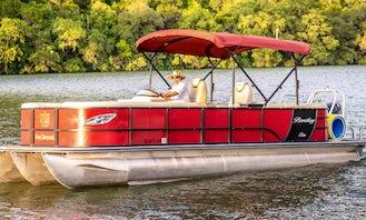 Pristine Pontoon Rental⎮Family Fun⎮Best of Lake Austin