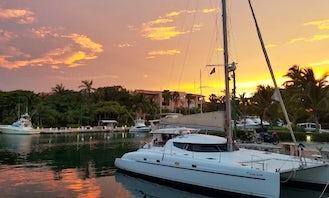 Private 42' Cruising Catamaran in Puerto Aventuras Playa del Carmen