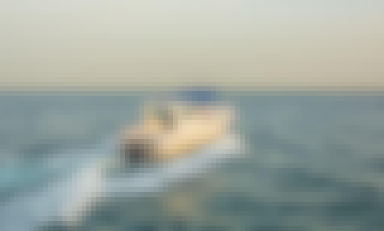 Gulf Craft Center Console Boat Rental in Dubai