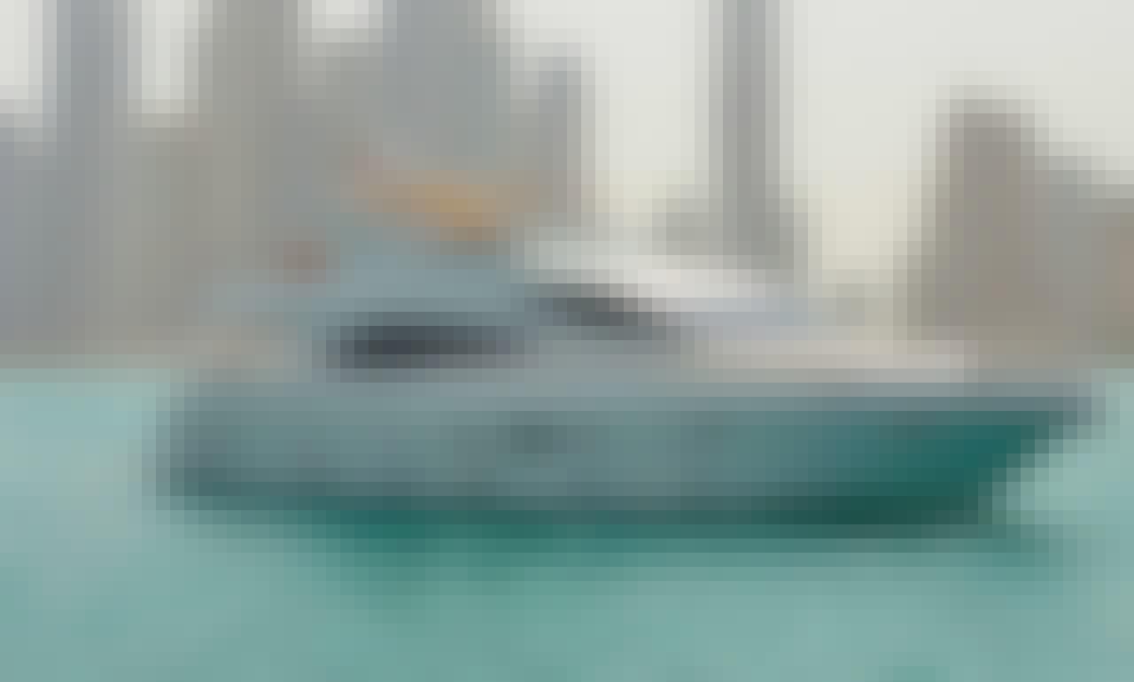 77' Majesty Power Mega Yacht Rental in Dubai