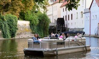 Charter 24' Pontoon in Prague, Czech Republic