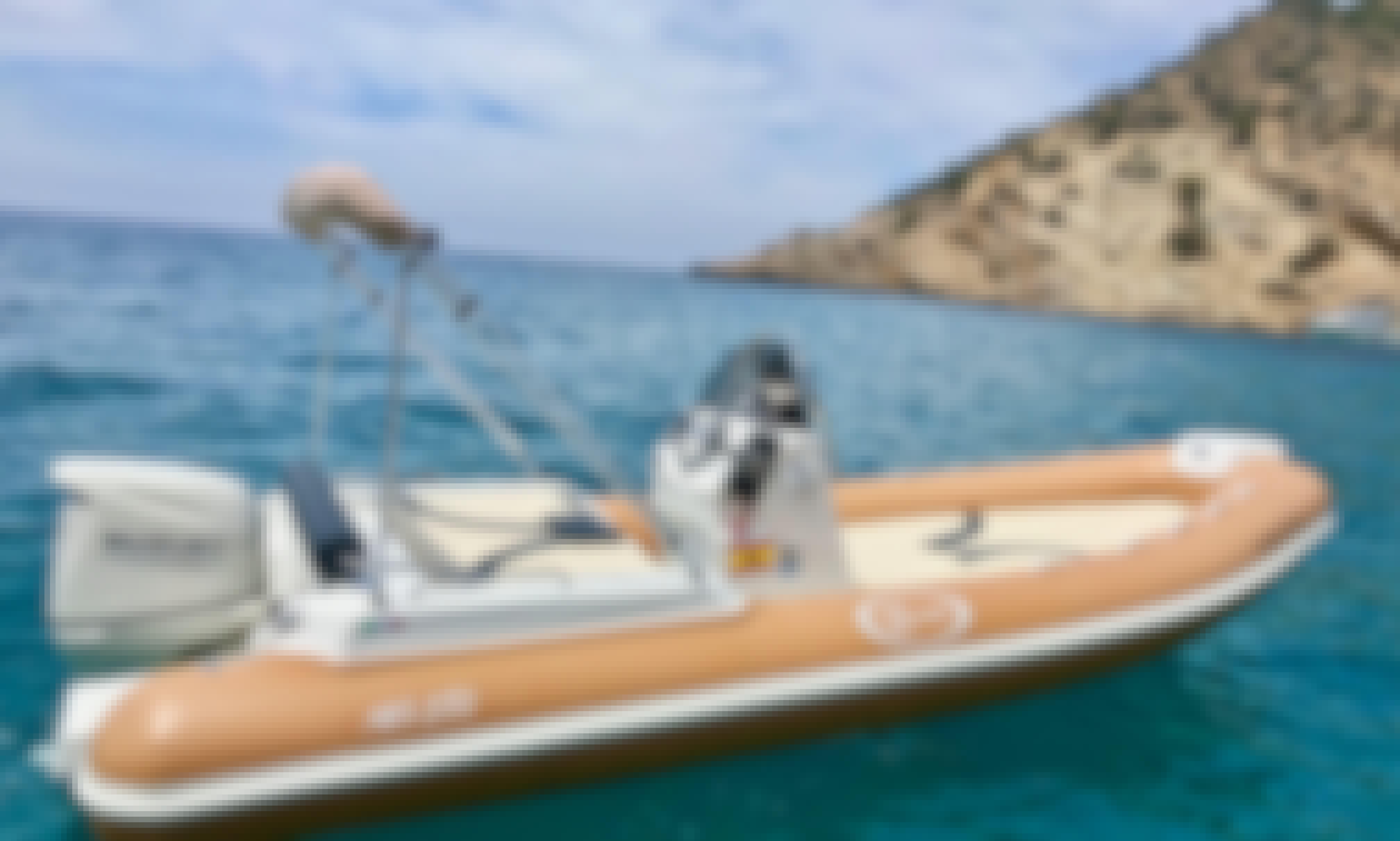 Hire the Saver MG580 Semi-Rigid Inflatable Boat in Port d'Andratx