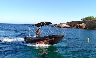 Sailor's Ride 450 XL Bowrider Rental in Aliki, Greece