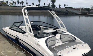 Awesome 2020 Model New Yamaha JET Boat in San Diego Bay-Coronado 20FT - Up to 8 PEOPLE