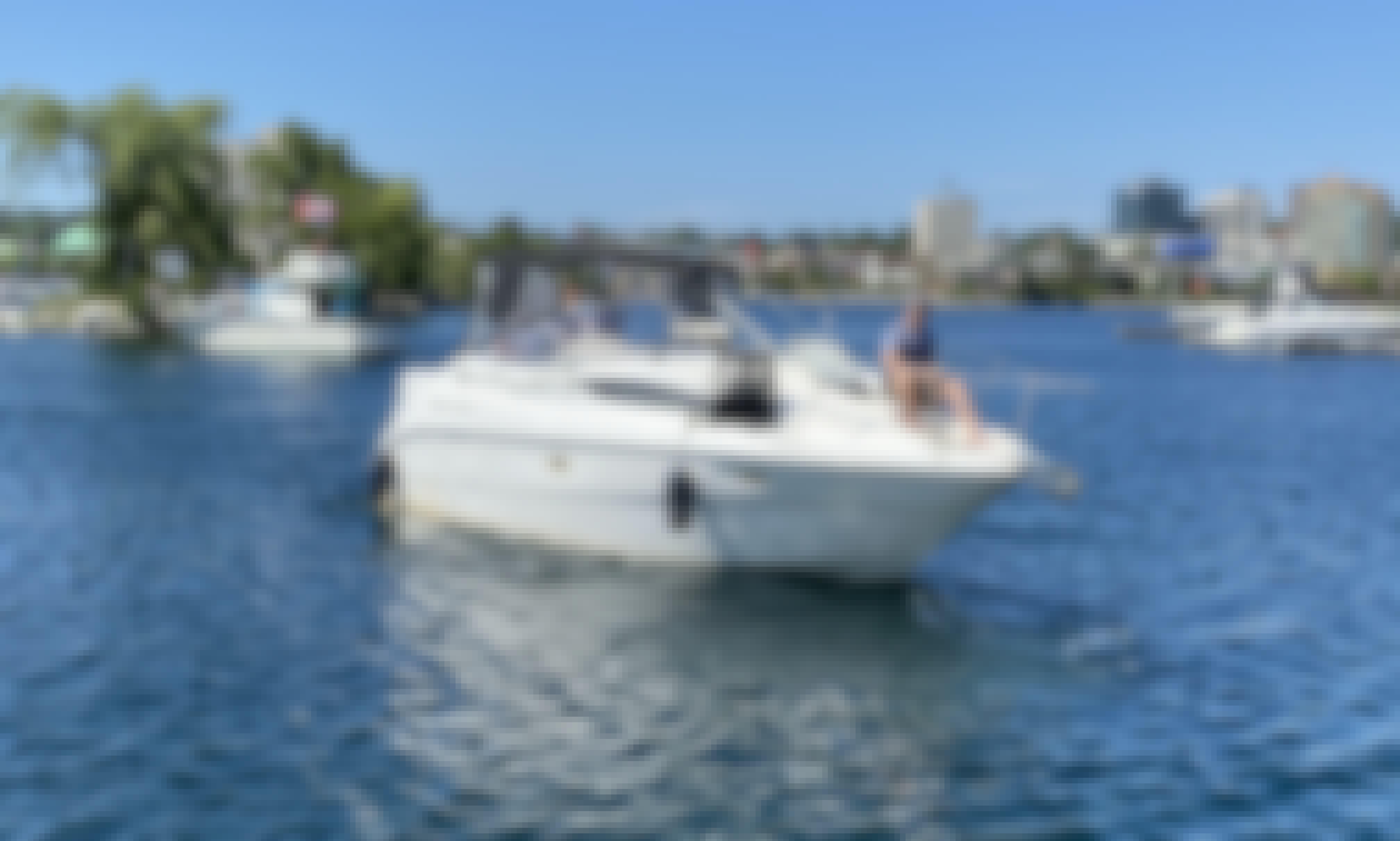 27' Bayliner 2655 Cierr Cuddy Cabin Rental in Keswick, CA Up to 6 Guests