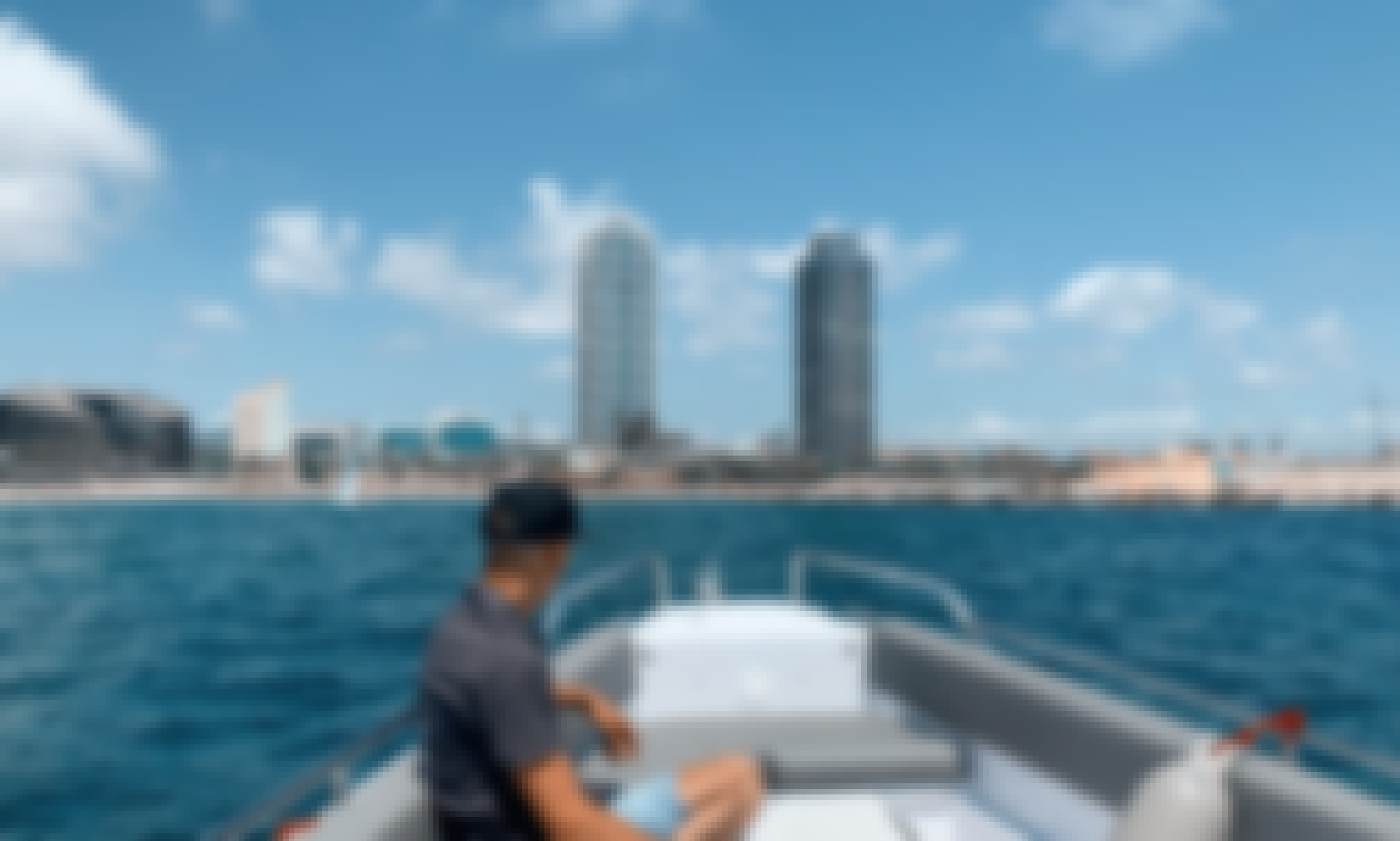Exclusive Motorboat for Up To 8 People for Day Charter in Barcelona