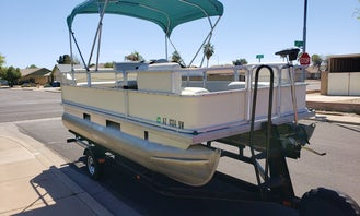 17' Sun Tracker Pontoon for Rent in Mesa, Arizona