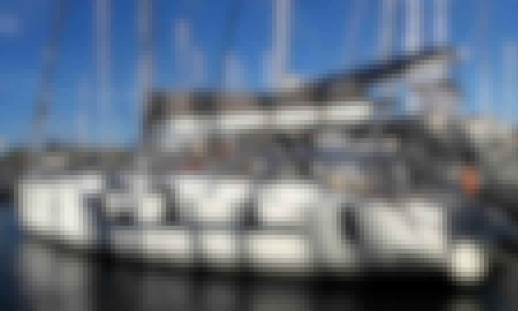 Hanse 455 Sailing Yacht Charter (Skippered or Bareboat) in Anatoliki, Attiki