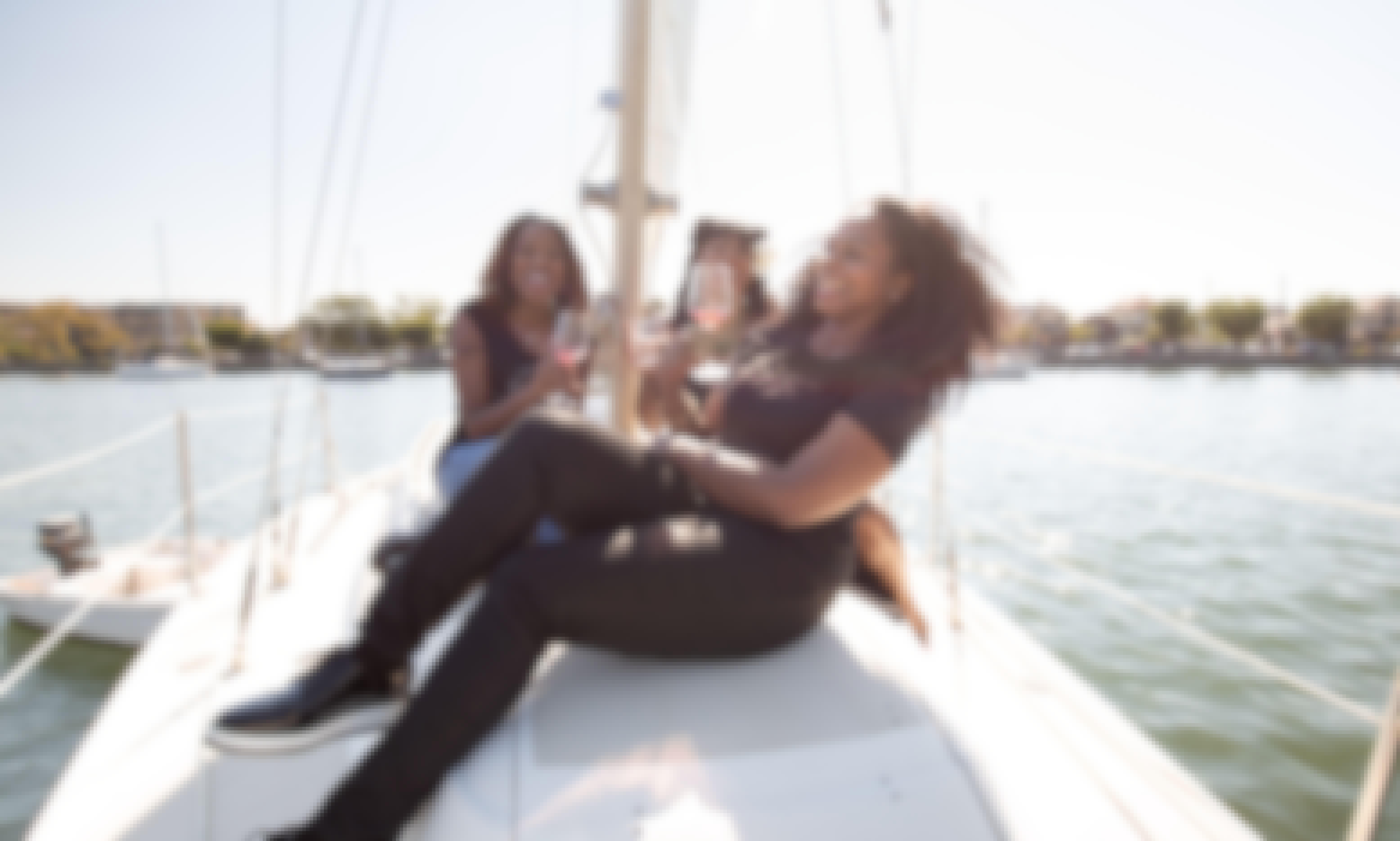 Caribbean Vibez on a Brooklyn Sailboat