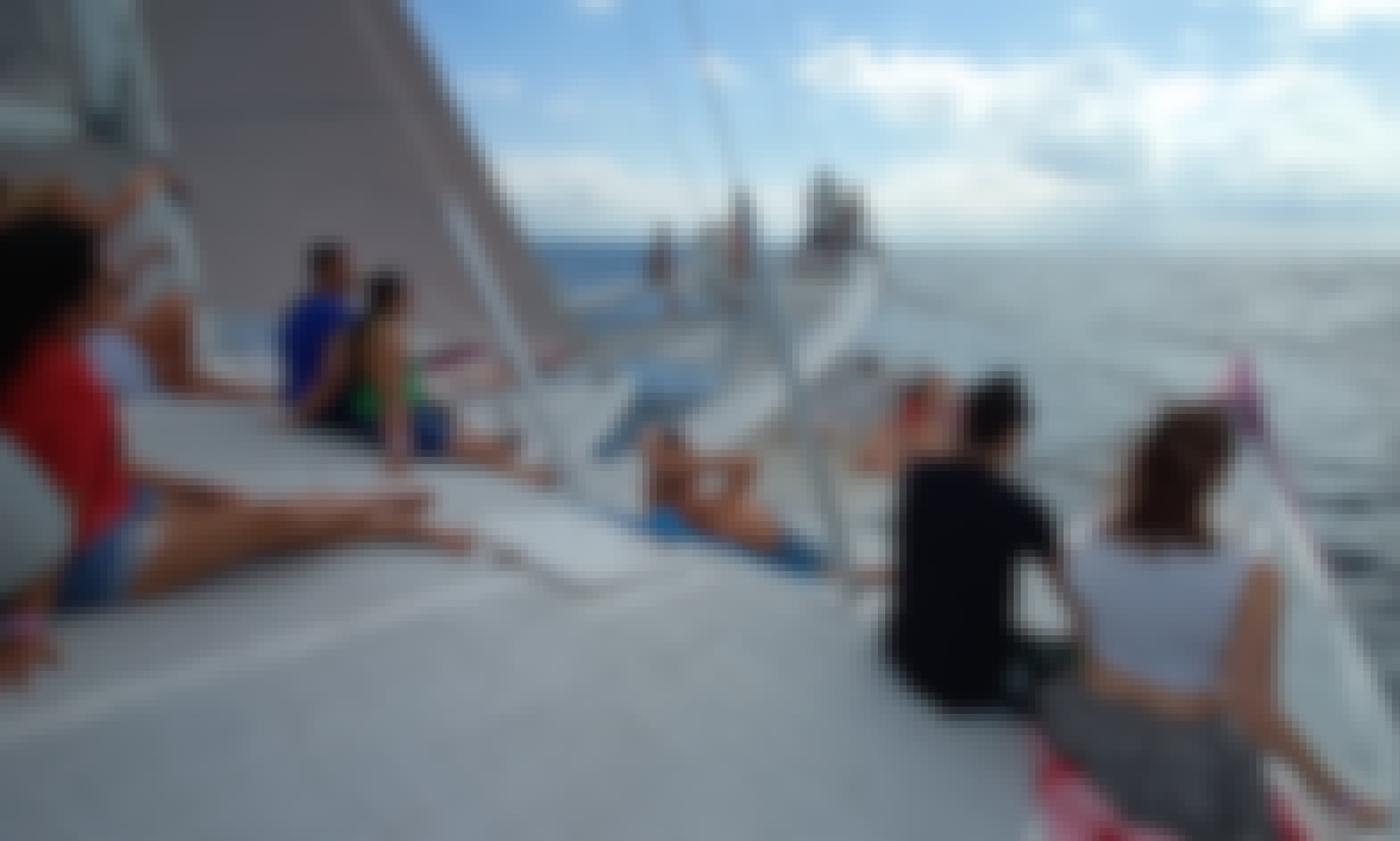 Leisurely Aneecha Sailing Catamaran available for a group charter in Bali