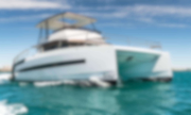 Comfortable new catamaran in Panama's amazing Pacific paradise