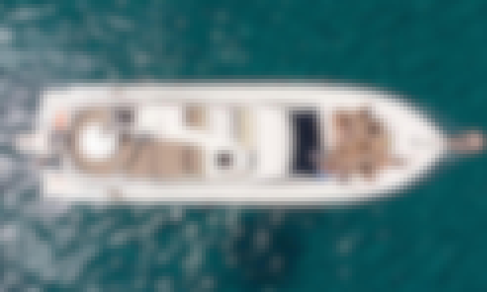 "Charter Ferretti 53 ""Baby"" Motor Yacht in Ornos, Greece"
