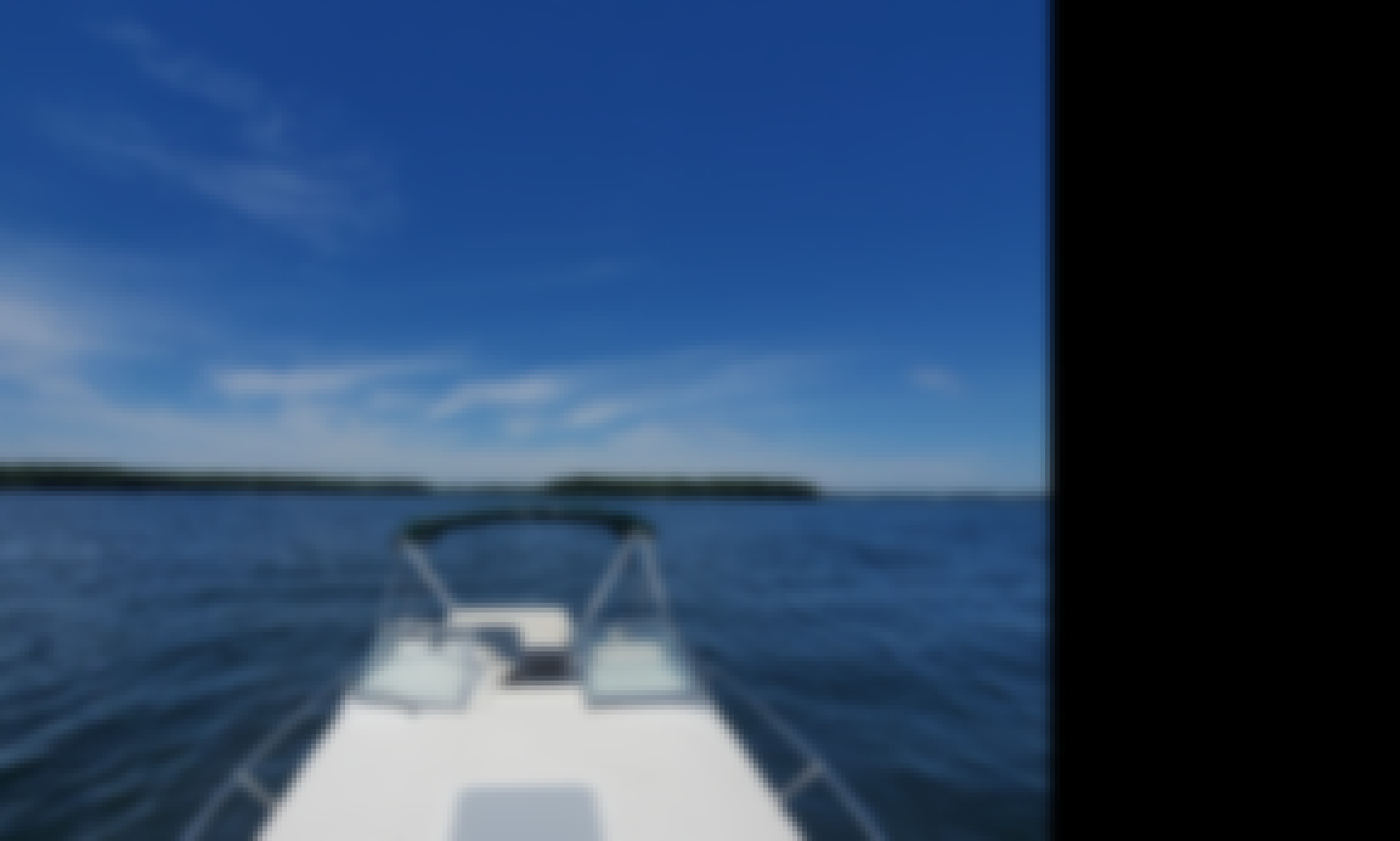 Enjoy Lake Minnetonka on this 25' Larson!