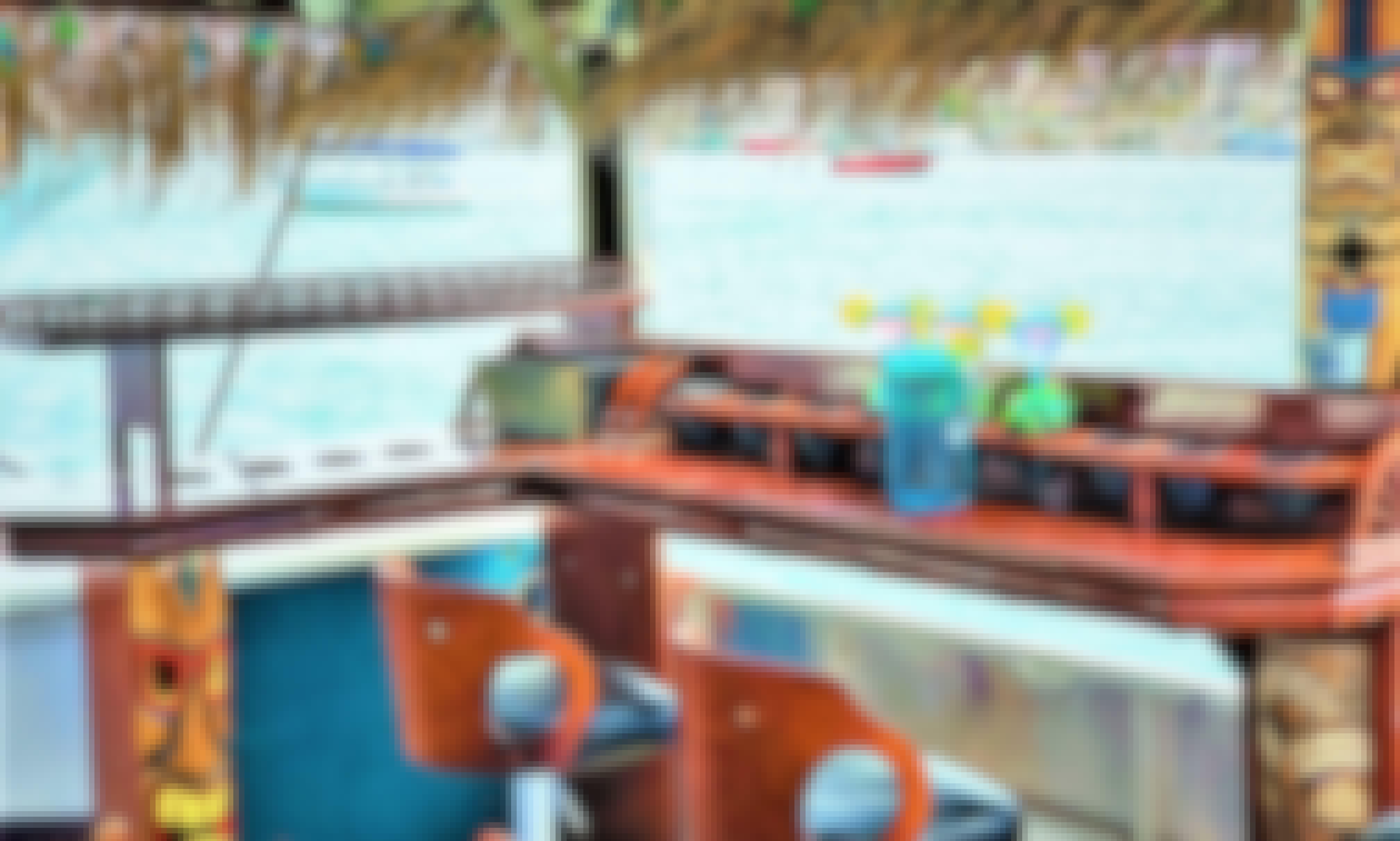 Tiki-Style Pontoon Boat for Rent in Newport Harbor, Newport Beach Reg #BT30071925