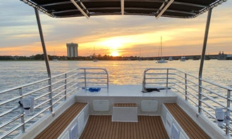 4-Hour *Private* Boat To Beach Charter in Charleston