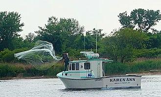 Fishing Charter on Custom Built Downeaster Boat in Howard Beach, New York