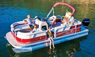 #16-Rent a  22' Sun Tracker Pontoon for 10 People in Seabrook, Texas