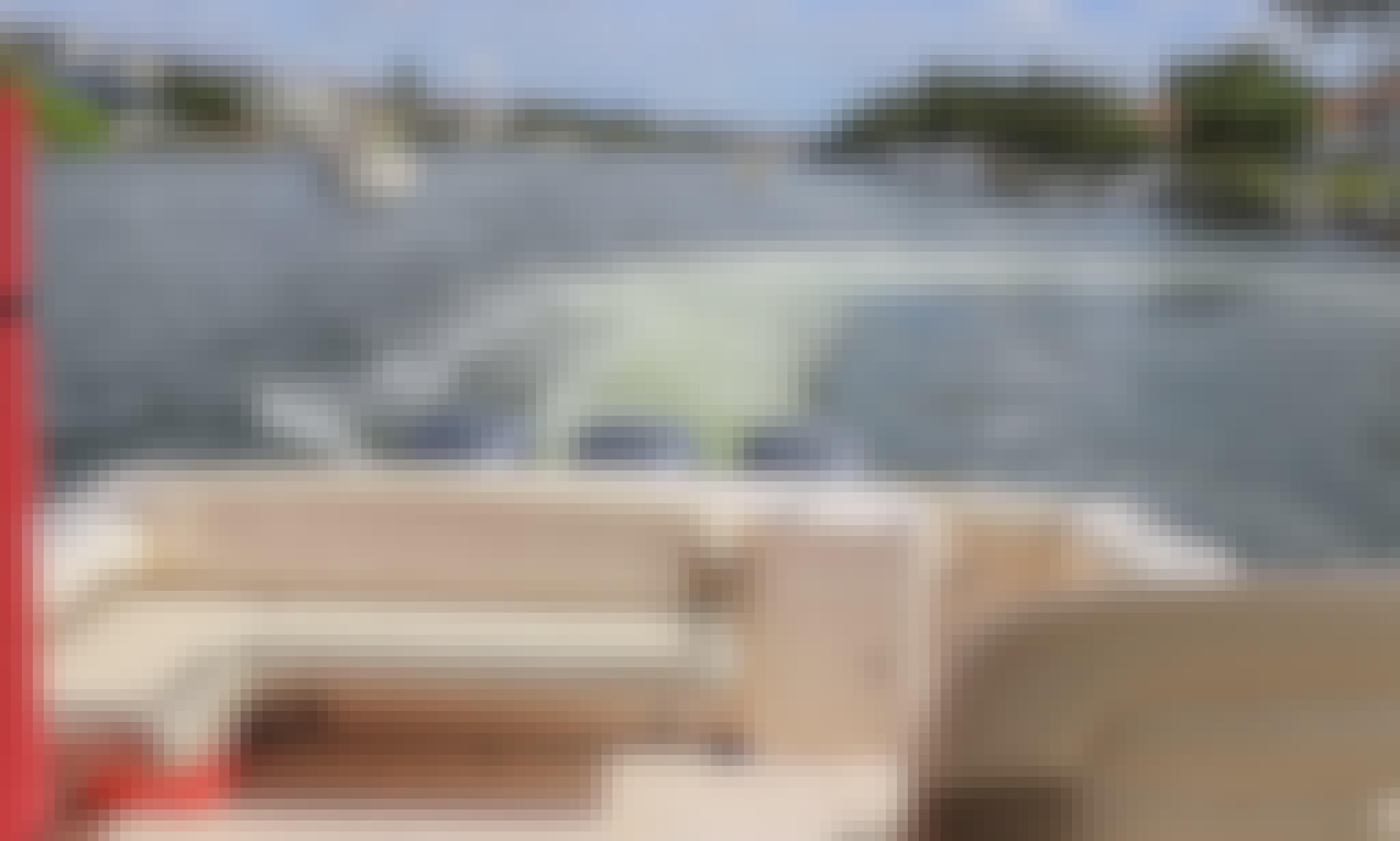 Palm Beach to Miami in 375 Grady White Freedom Motor Yacht