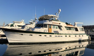 Charter Power Mega Yacht in Los Angeles, California for 12 person!