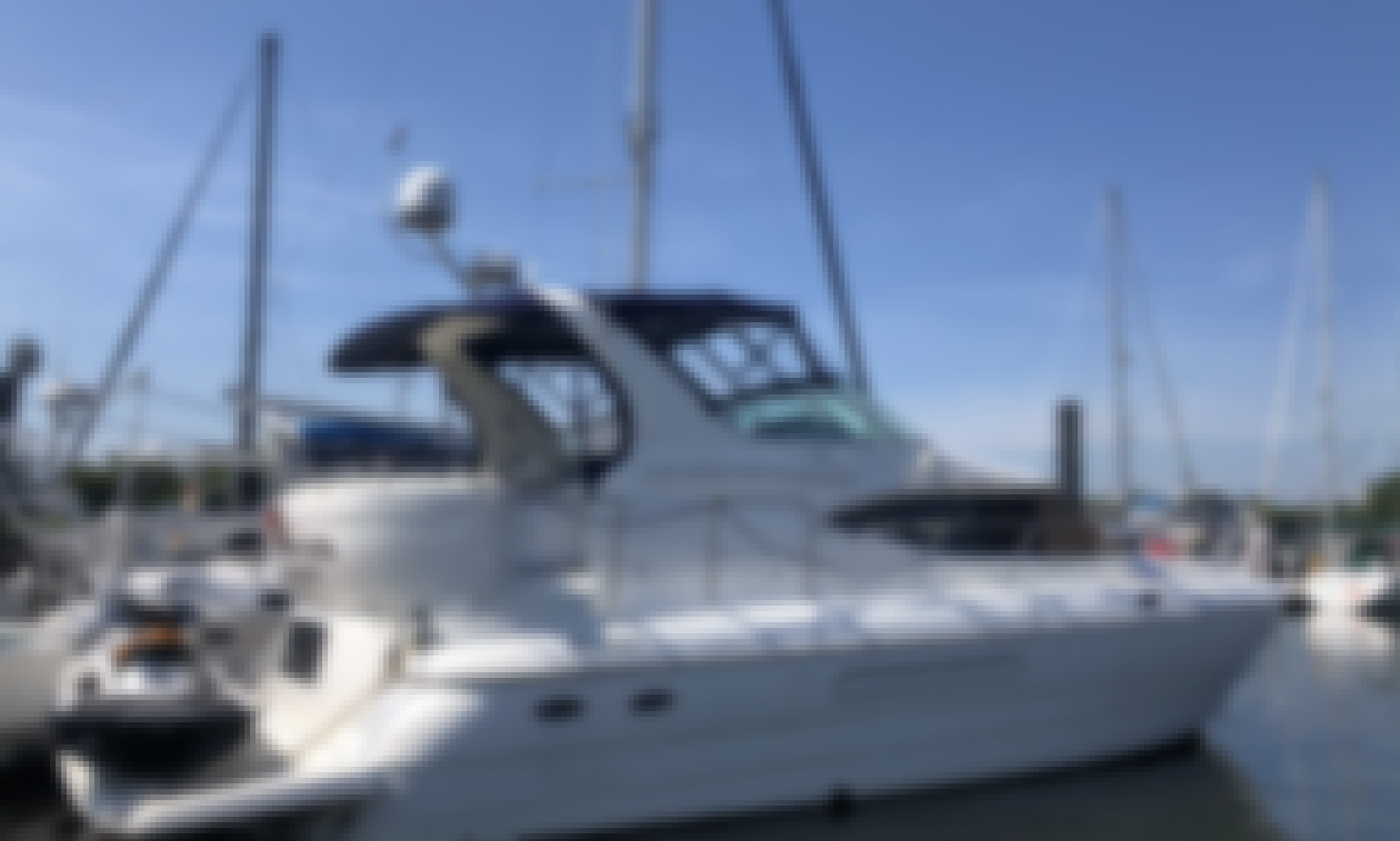 Cruise the beautiful NYC waterfront!  Yacht with a Captain in Jersey City, NJ