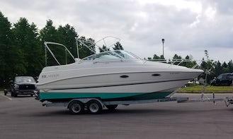 Rent the 27' Larson 270 Cabrio Boat in Toronto, Ontario!!