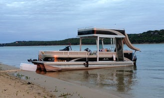 Charter 27' Avalon Funship Double Deck Pontoon with Waterslide in Little Elm