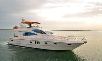 Most Luxurious 68t Yacht Rental in Dubai FROM US