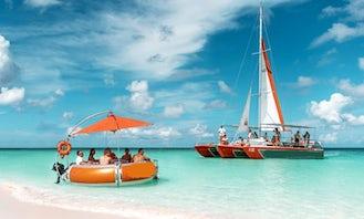 Octopus Catamaran Special Half Day Champagne Brunch - Palm Beach, Aruba