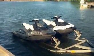 Rent this 2-Seater Seadoo Spark Jetski in Galveston