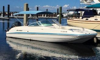 24 ft. Hurricane Deck Boat with 250 Yamaha 4 Stroke in Bradenton, FL