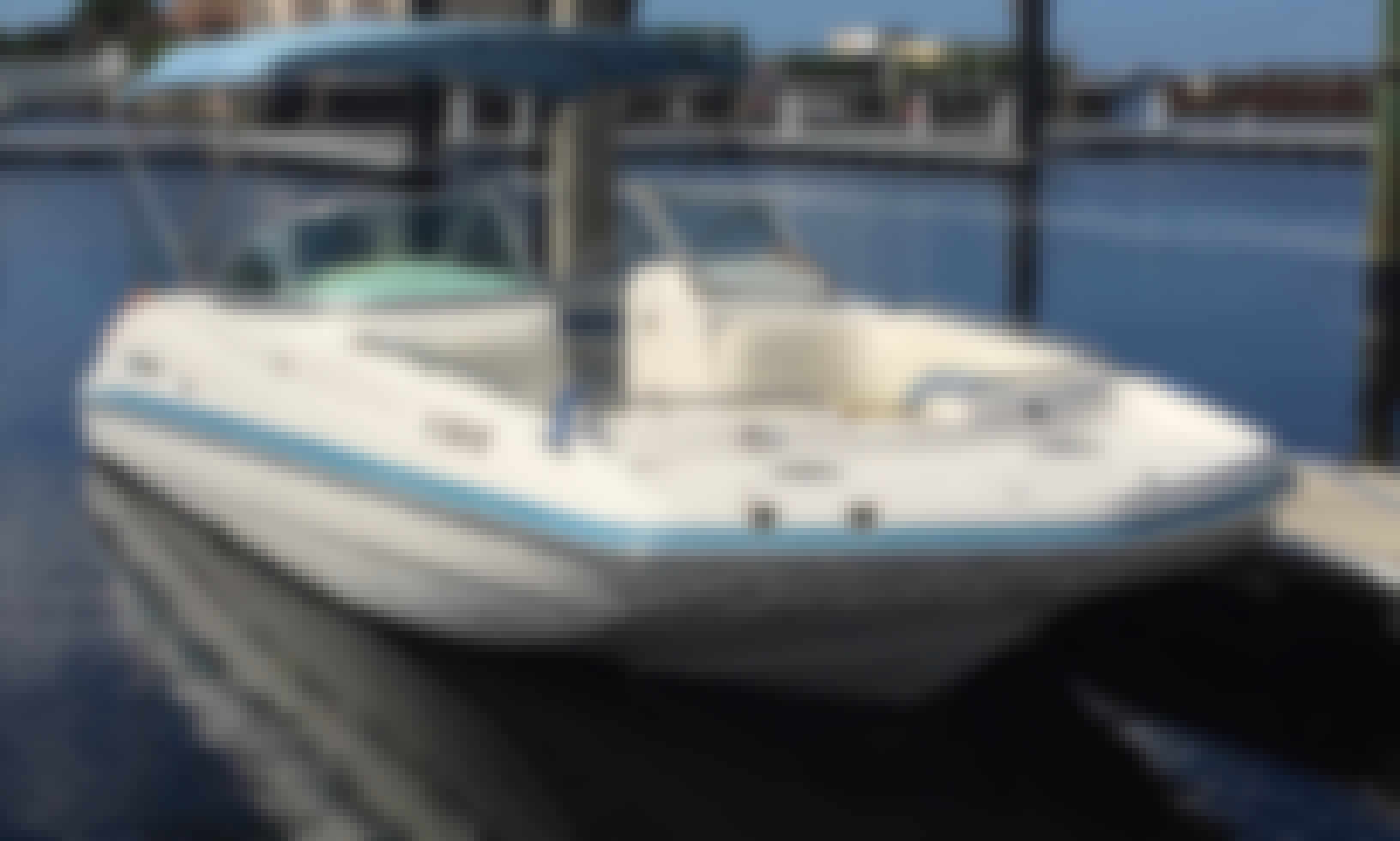 24 ft. Hurricane Deck Boat with 250 Yamaha 4 Stroke in Bradenton, FL